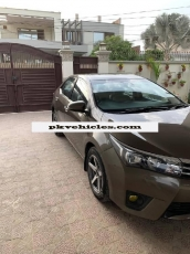 Toyota Corolla 2015 For Sale At Multan